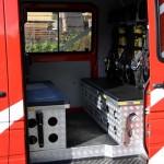 Kleinrüstfahrzeug mit Allradantrieb mit Ausrüstung für drei Atemschutzträger