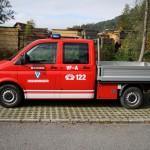 Versorgungsfahrzeug mit Allradantrieb