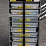 Mannschaftstransportfahrzeug - Container mit Einsatzunterlagen