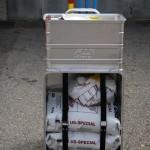 Mannschaftstransportfahrzeug - Container für Öleinsätze