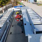 Ausstattung auf dem Dach